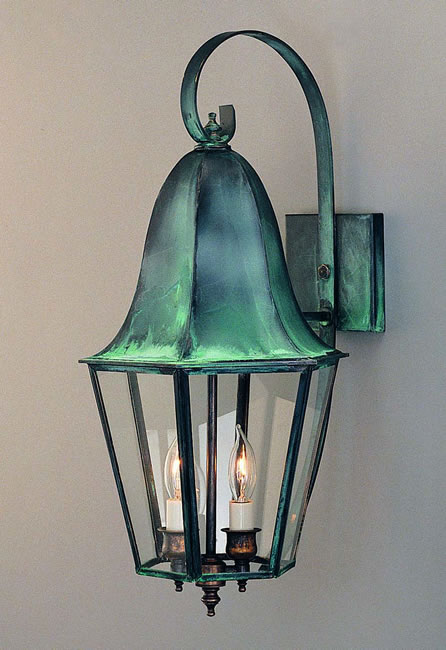 Tulip Lantern Model No O1015g Copper Lantern Lighting