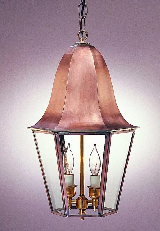 Tulip Lantern Model No H1076g Copper Lantern Lighting