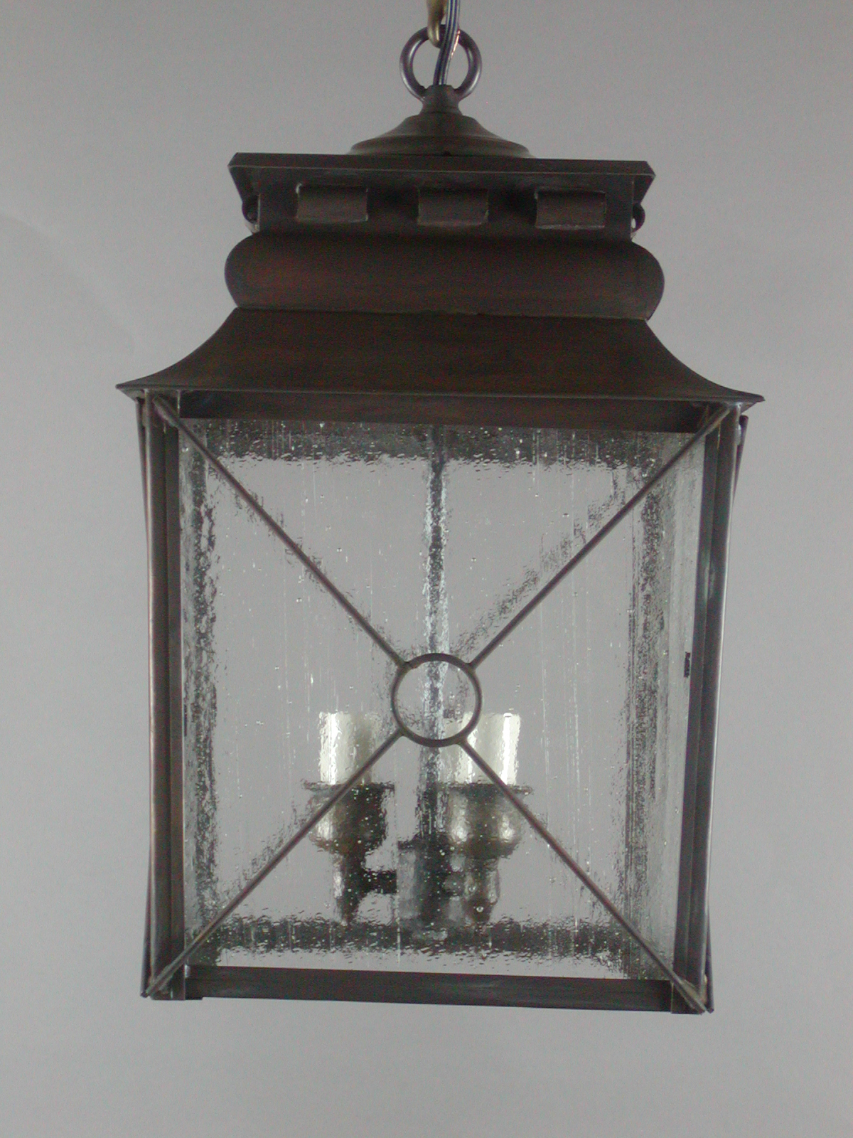 french provincial lighting. French Provincial Hanging Lantern W/ Grill Work-Model No. H2755G Lighting