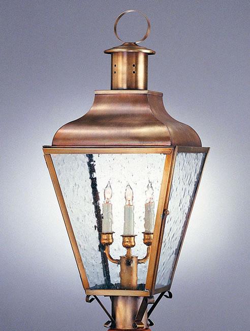Federal Post Top Model No P1055g Copper Lantern Lighting