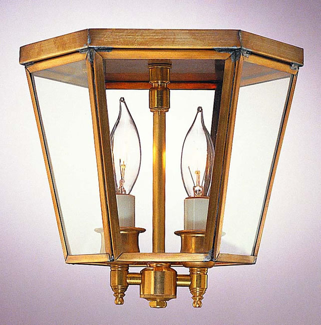 A Georgian Colonial Lantern Model No F1103g Copper Lantern Lighting