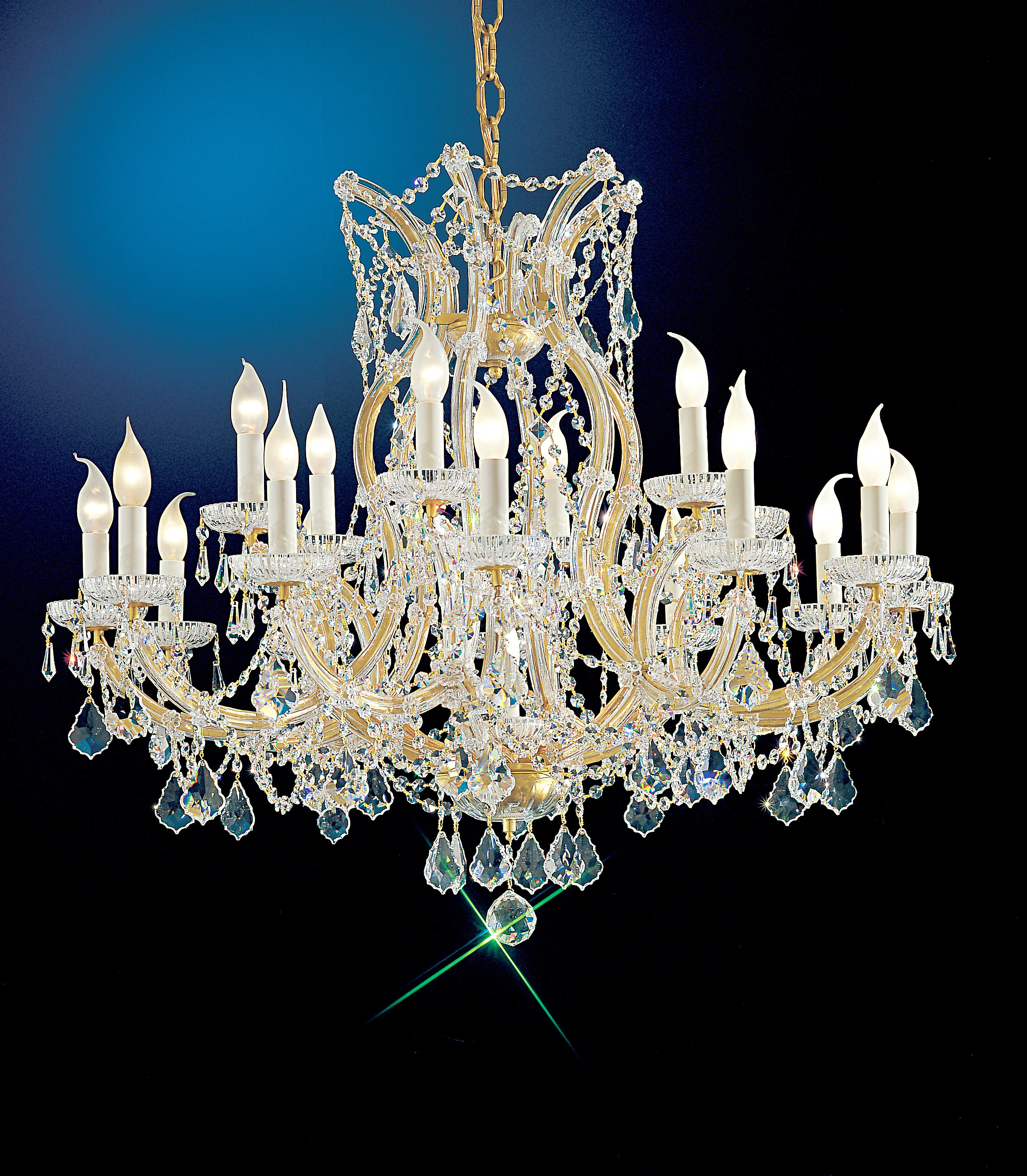 Maria Theresa Crystal Chandelier Model No C2632CC