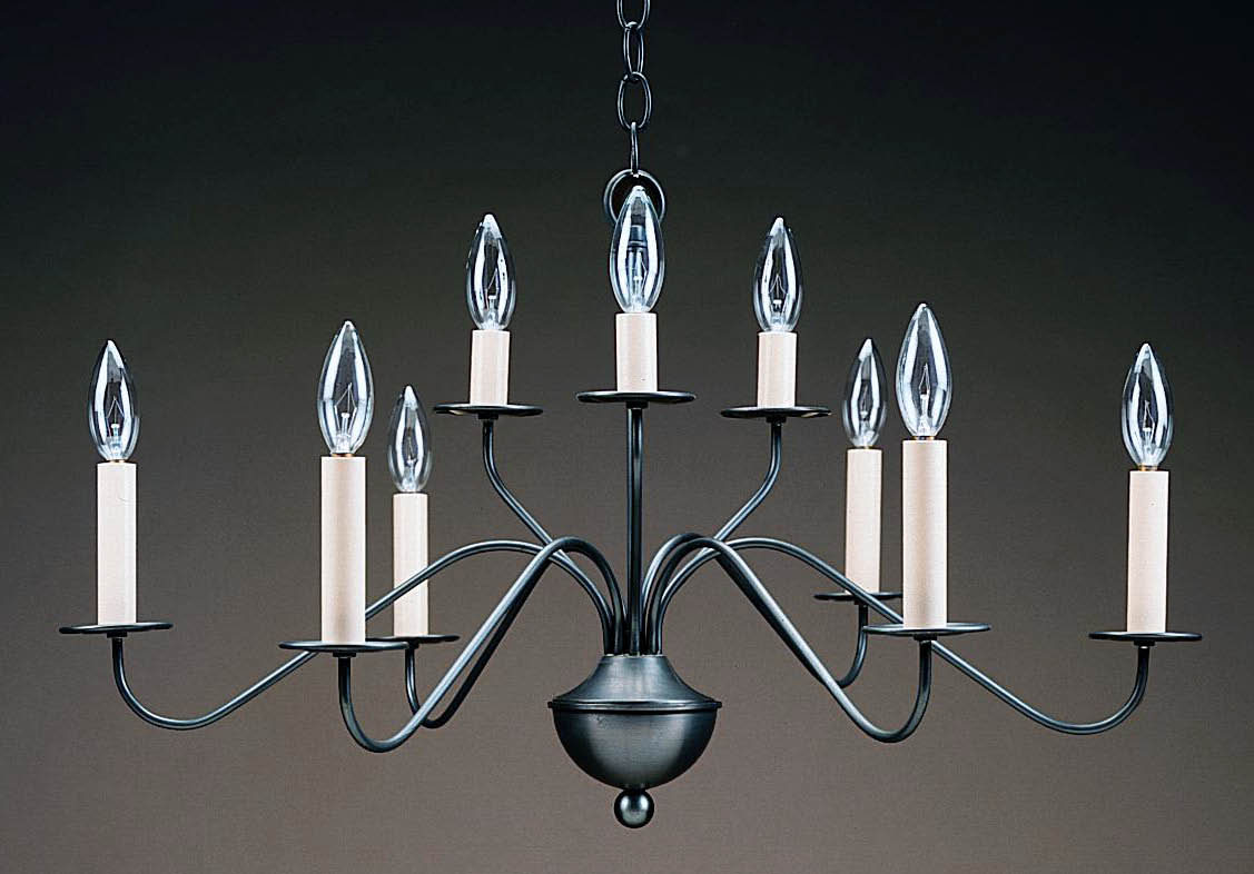 colonial urn chandelier