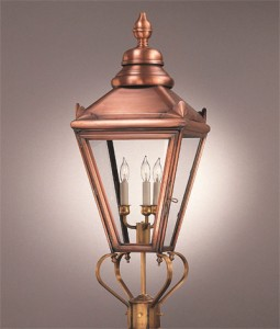 Handcrafter Exterior Copper Lantern