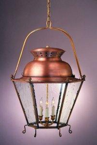 Copper Lantern Lighting Kettle