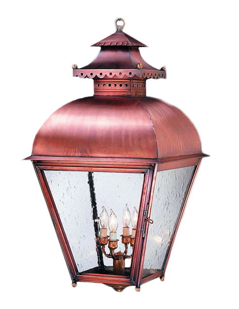 Copper Lantern Lighting